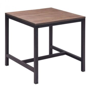 Fitch Side Table   Distressed Natural