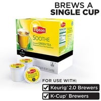 Keurig K-Cup Portion Pack Lipton Soothe Green Tea - 18-pk.
