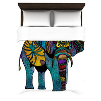 "Pom Graphic Design ""Elephant of Namibia"" Woven Duvet Cover"