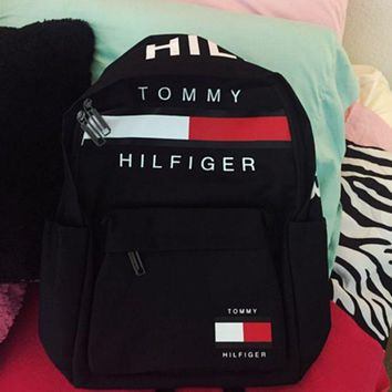 TOMMY HILFIGER Casual Sports Bag Shoulder Bag Backpack F