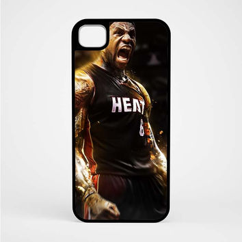 Lebron James Screaming Miami Heat iPod 5 Case