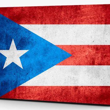 Puerto Rico Flag Distressed Vinyl Laptop Computer Skin Sticker Decal Wrap Macbook Various Sizes