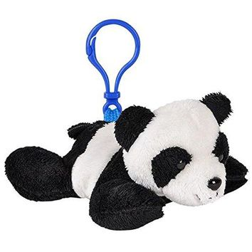 Wildlife Tree Panda Bear Plush 3.5 Inch Stuffed Animal Backpack Clip Toy Keychain Wildlife Hanger Party Favor Pack of 12