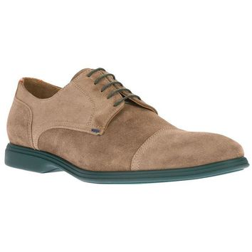 Paul Smith contrast sole derby shoe