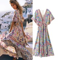 Women's Fashion Print Summer Prom Dress [16057368602]