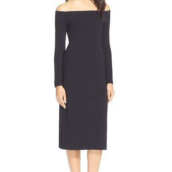 Women's Tibi Off the Shoulder Crepe Dress,