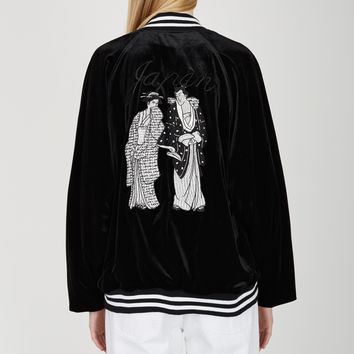 IKUMI Ukiyoe Japan Blouson - WOMEN - JUST IN - IKUMI - OPENING CEREMONY