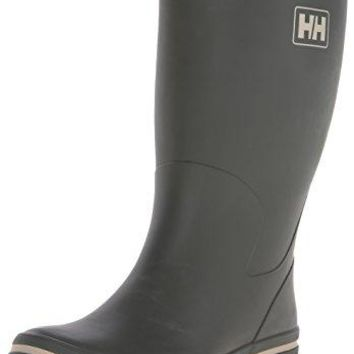 Helly Hansen Men's Midsund 2 Rain Boot, Forest Night/Taupe Grey, 9.5 M US