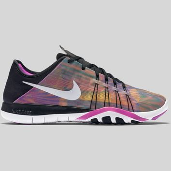 AUGUAU Nike Wmns Free TR 6 PRT Black Hyper Violet Photo Blue