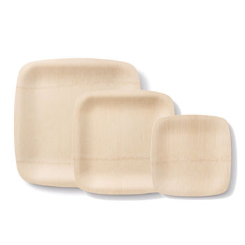 All Occasion Veneerware® Square Bamboo Plates (package of 100)