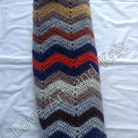Ready to ship, handmade, stroller, Icelandic wool, kids, throw, zig zag, afghan, blanket, wheelchair, baby carriage, baby, nursery, outdoors