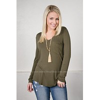 Jewel Solid Pocket Top