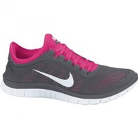 Nike Lady Free 3.0 V5 Running Shoes - 8.5 - Grey