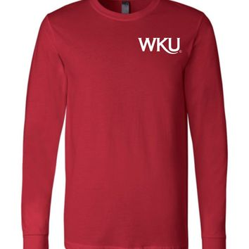 Official NCAA Western Kentucky University Big Red Hilltoppers WKU Women's Long Sleeve T-Shirt