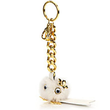 Sophie Hulme - Small Fur Pom-Pom Keychain - Saks Fifth Avenue Mobile