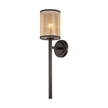 57023/1 Diffusion 1 Light Wall Sconce In Oil Rubbed Bronze - Free Shipping!