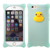 Cute Duck Silicone Protect Case for iPhone 5s 6 6s Plus Gift 07