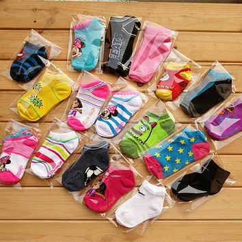 Baby Toddler Newborn Floor Socks( 6 Pieces/lot=3pair )