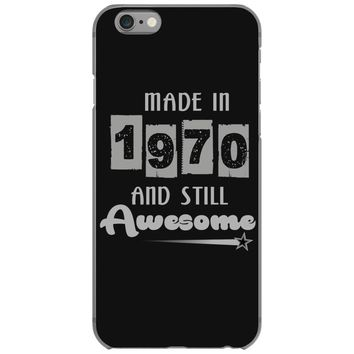 made in 1970 and still awesome iPhone 6/6s Case