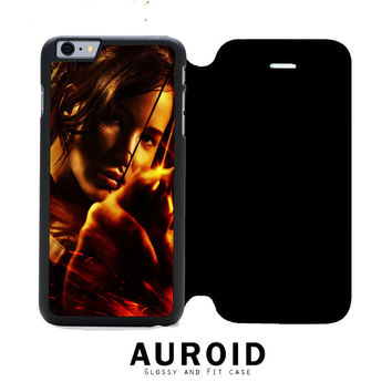 Hunger Games Katniss Everdeen Bow iPhone 6S Plus Flip Case Auroid
