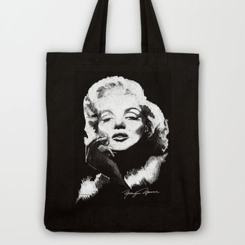 Marilyn Monroe by Brett Winn Art Tote Bag by Brett Winn