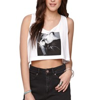 Diamond Supply Co Diamond Denaya Crop Tank - Womens Tee - White - One
