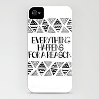 Triangles Saying 1 iPhone Case by Kayla Gordon | Society6