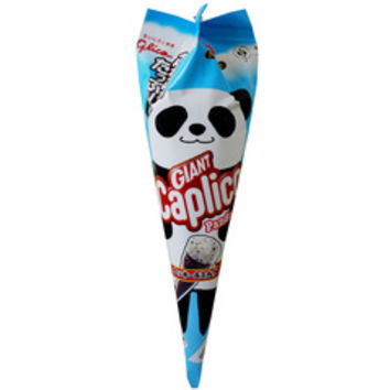 Glico Giant Cookies & Cream Flavoured Chocolate Ice Cream Cone (Giant Caplico Panda Kukki Miruku) 35g