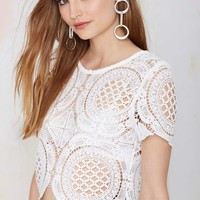 Rise of Dawn Jovan Lace Top
