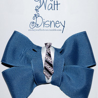 Walt Disney Hair Bow by MickeyWaffles on Etsy