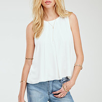Box-Pleated Top