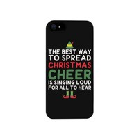 The Best Way to Spread Christmas Cheer phone case for iphone 4, iphone 5, iphone 5C, iphone 6, iphone 6 plus, Galaxy S3, Galaxy S4, Galaxy S5, HTC One M8, LG G3