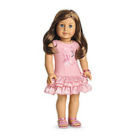 American Girl® Clothing: Pretty Pink Outfit for Dolls + Charm