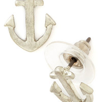 ModCloth Nautical Just Drop By Earrings
