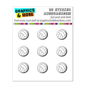 Volleyball Sporting Goods Sportsball iPhone iPad iPod Home Buttons