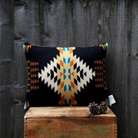 Echo Black Pendleton Pillow | BRIKA - A Well-Crafted Life