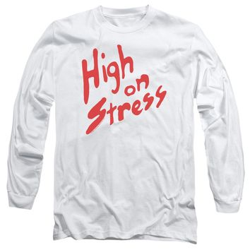 Revenge Of The Nerds - High On Stress Long Sleeve Adult 18/1 Officially Licensed Shirt
