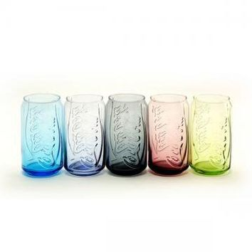 Colorful Transparent Cola Cup by goodbuy on Zibbet