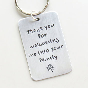 Welcome wedding gift for son-in-law - from Belvidesigns on Etsy