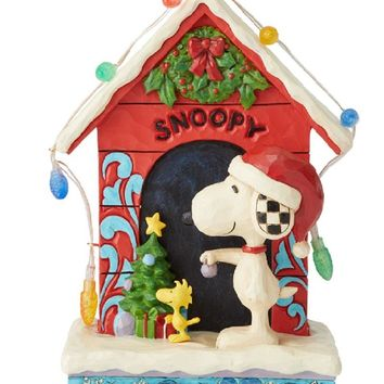 Jim Shore Peanuts Snoopy by Dog House-6002771