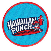 "Cool Vintage 70's 80's Style ""Hawaii"" Surfing Surfer Surf Patch Badge for Cap Hat Shirt 8cm Applique"