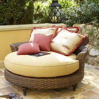 Outdoor Circular Chaise - Horchow