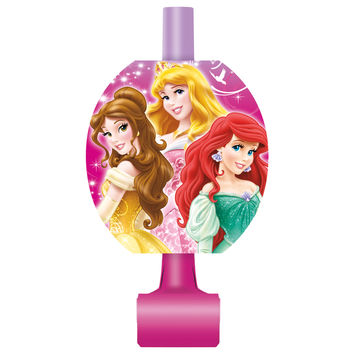 Disney Princess Party Blowouts [8 Per Pack]