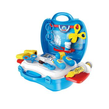 Kids Tool Set Tool Kit in Suitcase Tool Kit Construction Plaything for Play  Medical Kit Suitcase for Children