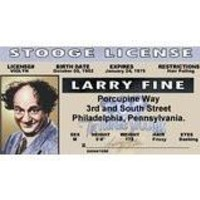 Three Stooges Larry - Collector Card