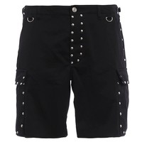 Indie Designs Saint Laurent Inspired Studded Cargo Bermuda Shorts