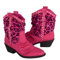 Pink Cheetah Cowboy Boots | Girls Boots & Flats Clearance | Shop Justice