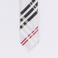 Double Entendre Tie With Tie Bar