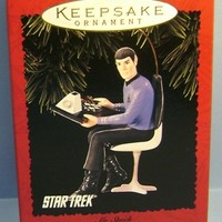 1996 Mr. Spock Hallmark Star Trek Retired Ornament