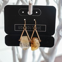 Make My Way Earrings - Ivory